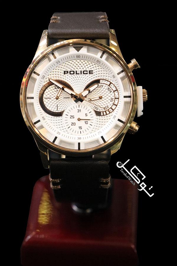 11 - ساعت پلیس مدل NBPL14383JSR-04