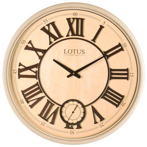 ساعت دیواری چوبی لوتوس مدل ATLANTA