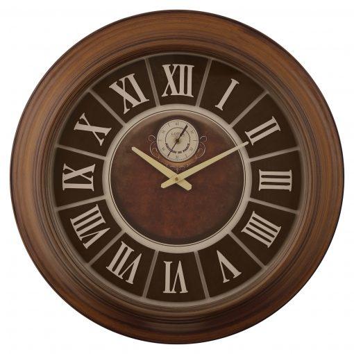 ساعت دیواری چوبی JASPER از جدید ترین ساعت های دیواری چوبی گروه تولیدی لوتوس است. این ساعت دارای صفحه برجسته چوبی است. ساعت دیواری JASPER دارای فریم چوبی قهوه ای و شیار دار است که جذابیت این ساعت را دو چندان کرده است. موتور یانگ تان در ساعت های لوتوس ساعت دیواری JASPER دو موتوره (اصلی و ثانیه شمار) است. و اعداد این مدل ساعت به صورت رومی می باشد. ساعت چوبی JASPER و دیگر ساعت های دیواری لوتوس با صفحات زیبا و اندکس های منحصر بفرد تولید شده اند. شرکت تولیدی لوتوس در تولید تمام ساعت های خود از موتور آرام گرد یانگ تان کشور تایوان استفاده کرده است، و ساعت های دیواری خود را در تنوع تک موتور(اصلی) و دو موتور(اصلی و ثانیه شمار) به بازار عرضه می کند. ساعت دیواری چوبی JASPER لوتوس با طراحی خاص محصول به همراه دیگر مدلهای متنوع در ساعت های چوبی در سایت لوتوس با قیمت مناسب قابل خرید است. قابل به ذکر است تمام ساعت های دیواری لوتوس دارای پنج سال گارانتی بی قید و شرط موتور هستند.