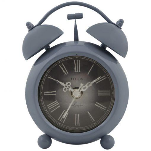 ساعت فلزی رومیزی مدل SEATTLE کد BS-800 رنگ (COOL GRAY)