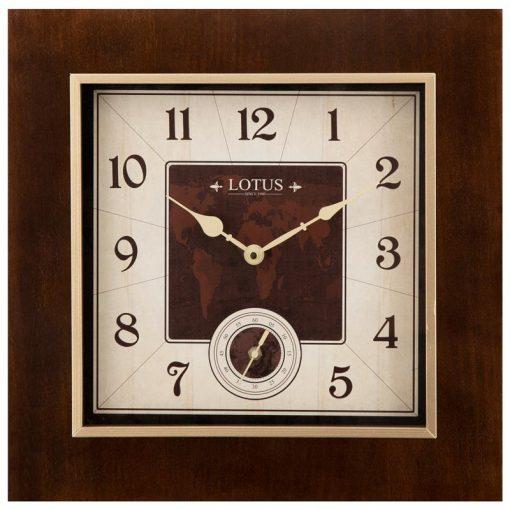 ساعت دیواری چوبی مدل SUNFIELD کد W-9916